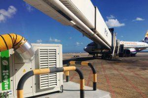 Pasarelas de embarque del Aeropuerto de Fuerteventura